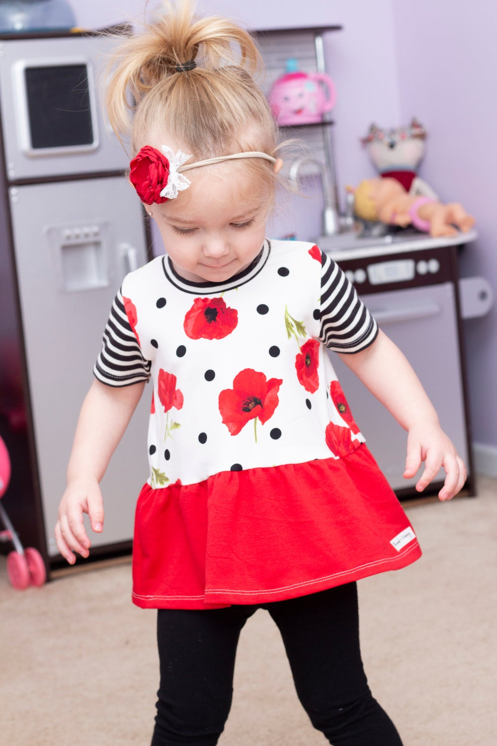Image of Poppy Peplum