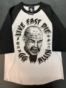 Image of GG Allin Two Sided White/Black Jersey