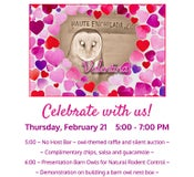 Image of Teco & Valentina Celebration - Owls in Schools