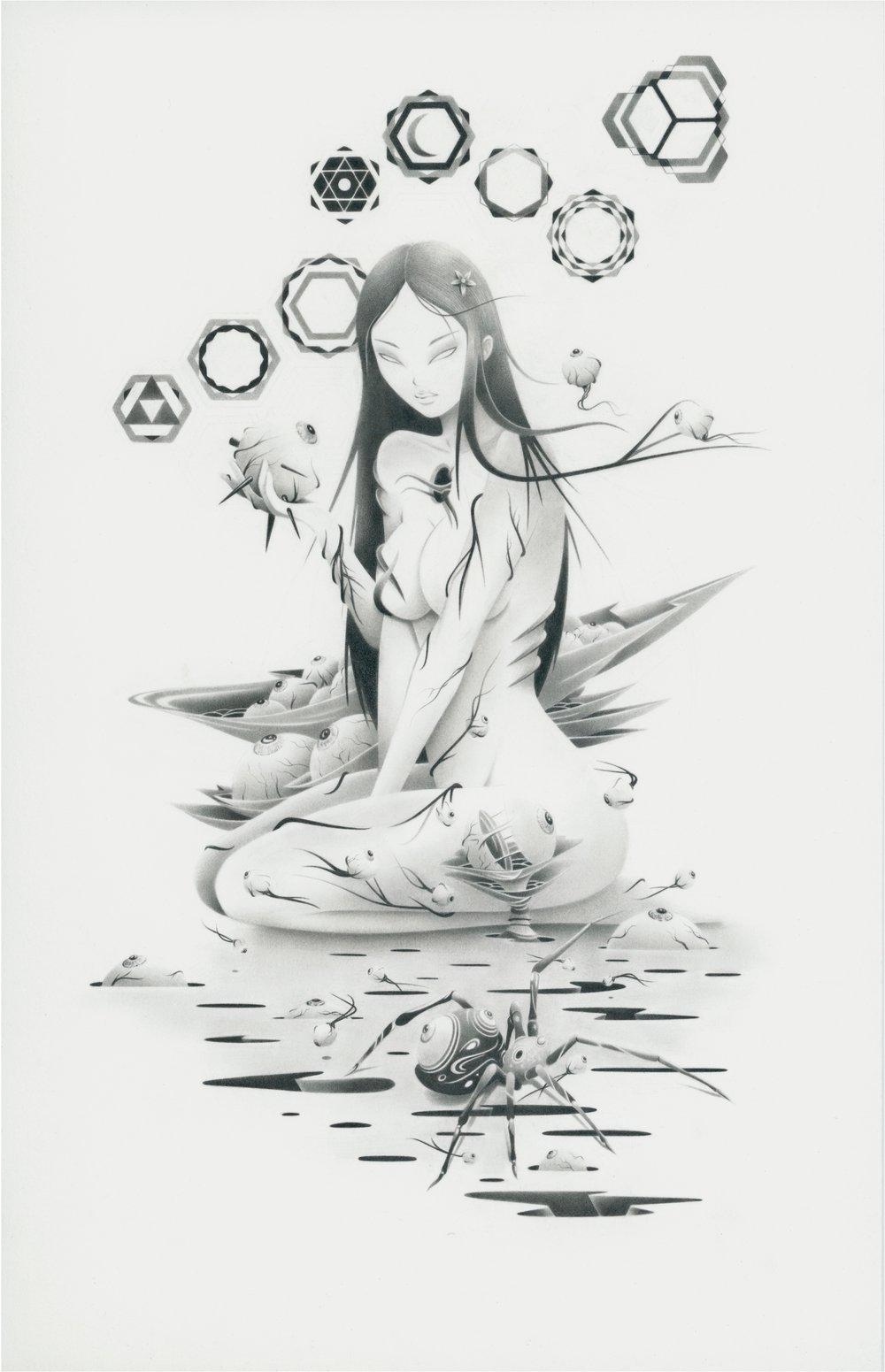 Image of Garden of Rebirth (7.5x 11.5 print)
