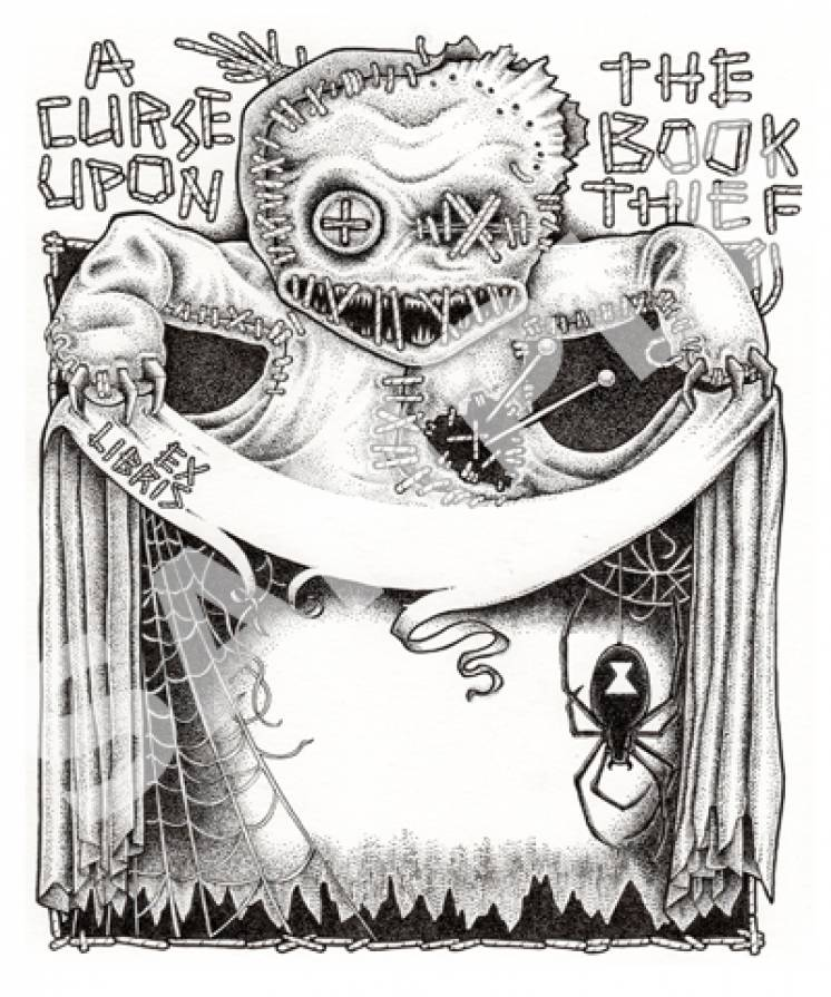 Image of Doombag bookplates