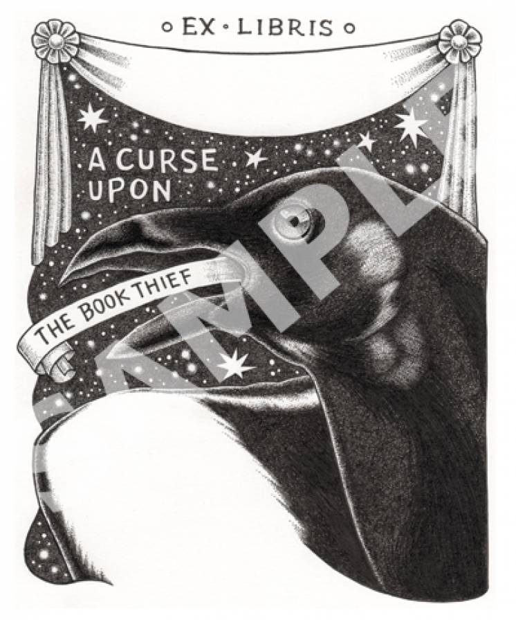 Image of Nevermore bookplates