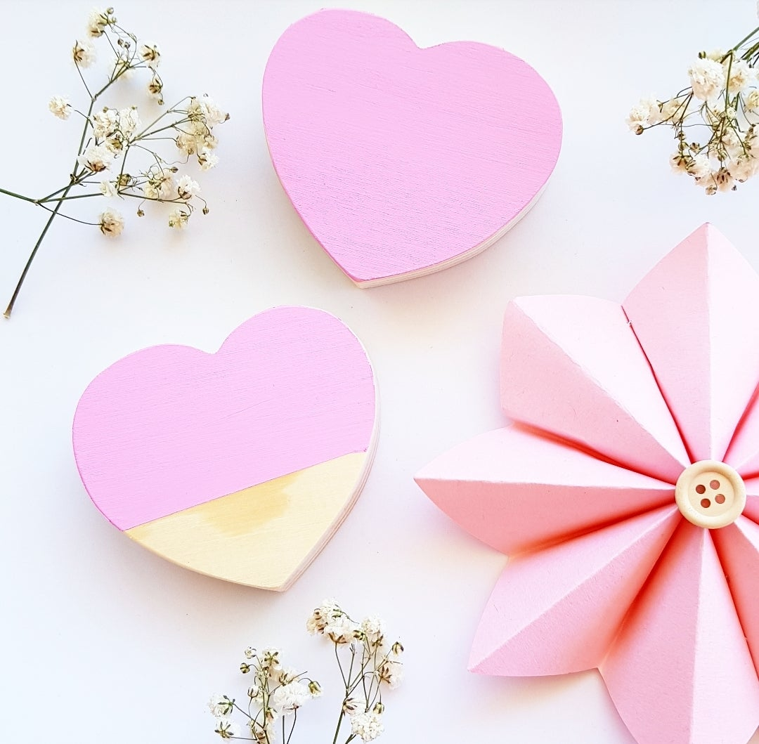 Image of Wooden Hearts