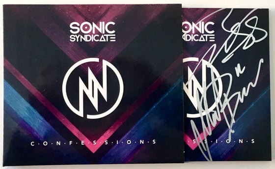 Image of Sonic Syndicate - Confessions (Signed Digipack CD)