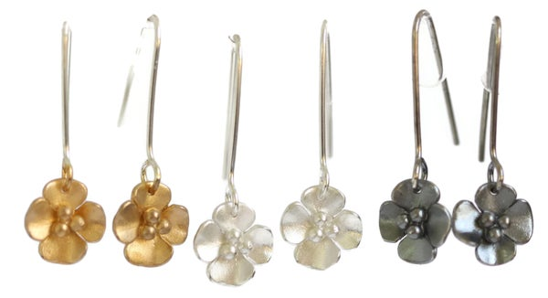 Image of Buttercup drop earrings