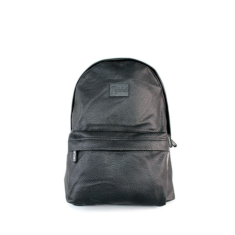 Image of Black Leather Bag