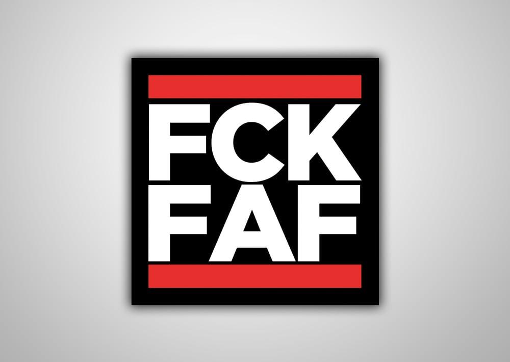 "Image of 100 Autocollants ""FCK FAF"""