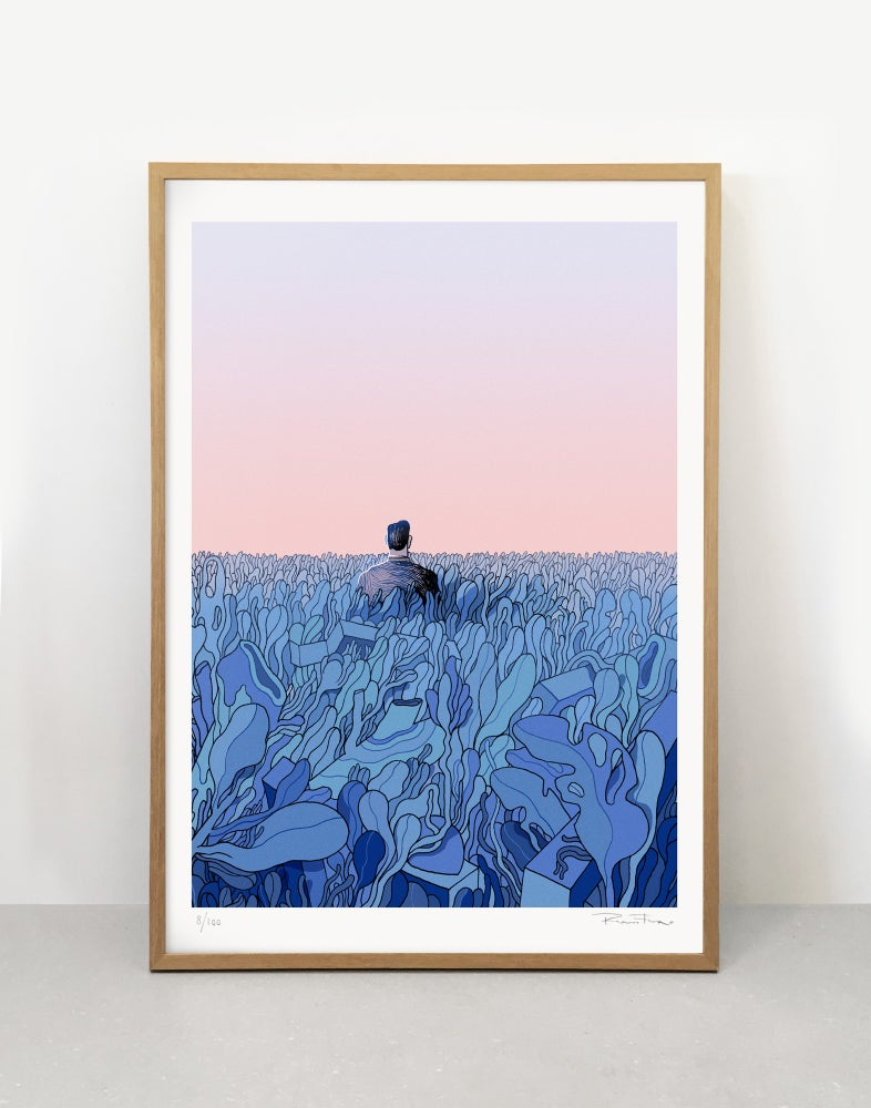Image of Above - Art print