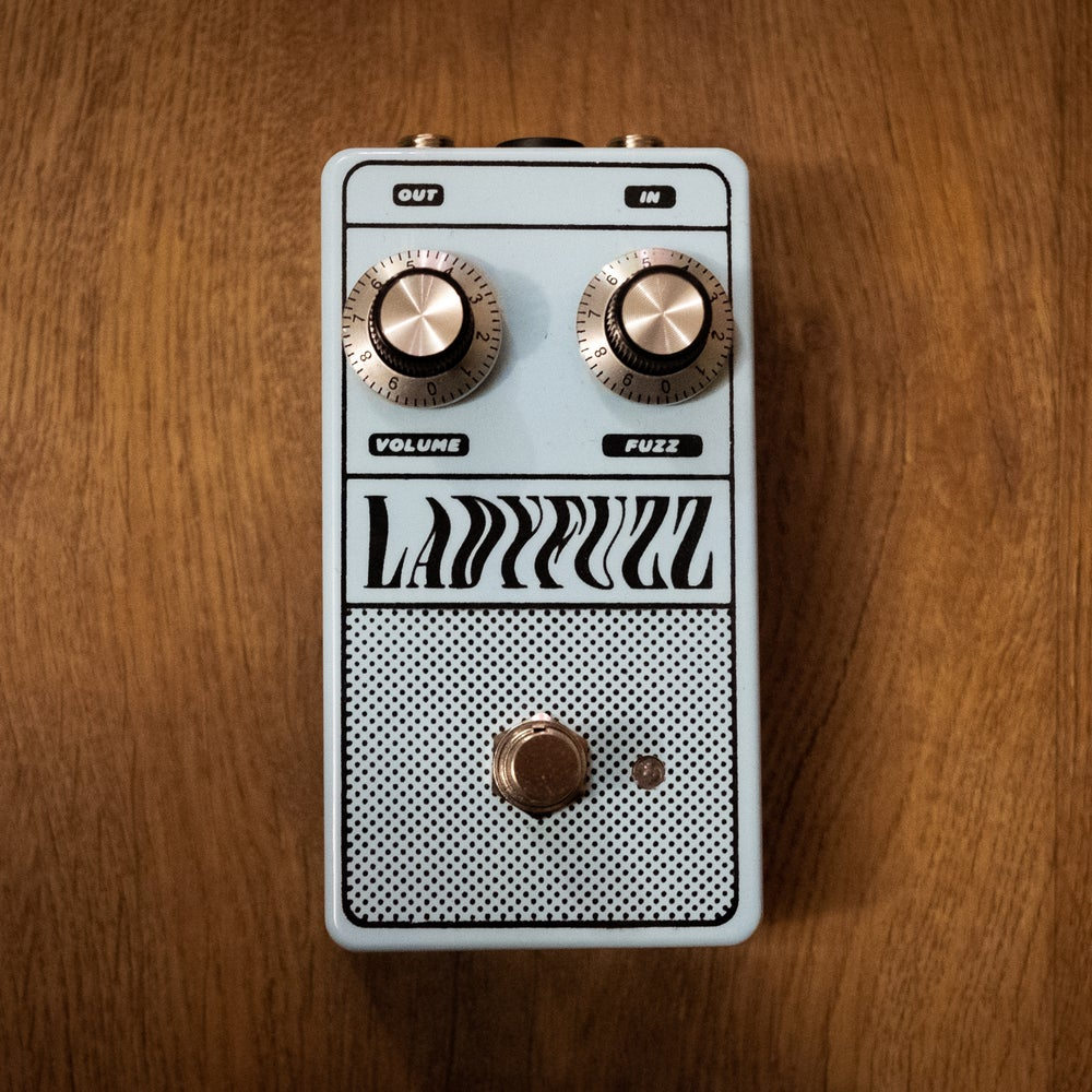 Image of Ladyfuzz Fuzz Pedal (+ Free Copy of Issue #7)