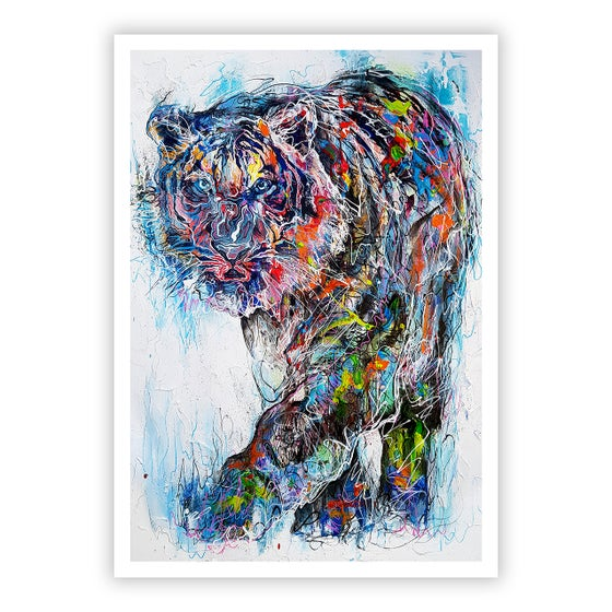 Image of Accomplish Through Stealth - OPEN EDITION PRINT - FREE WORLDWIDE SHIPPING!!!