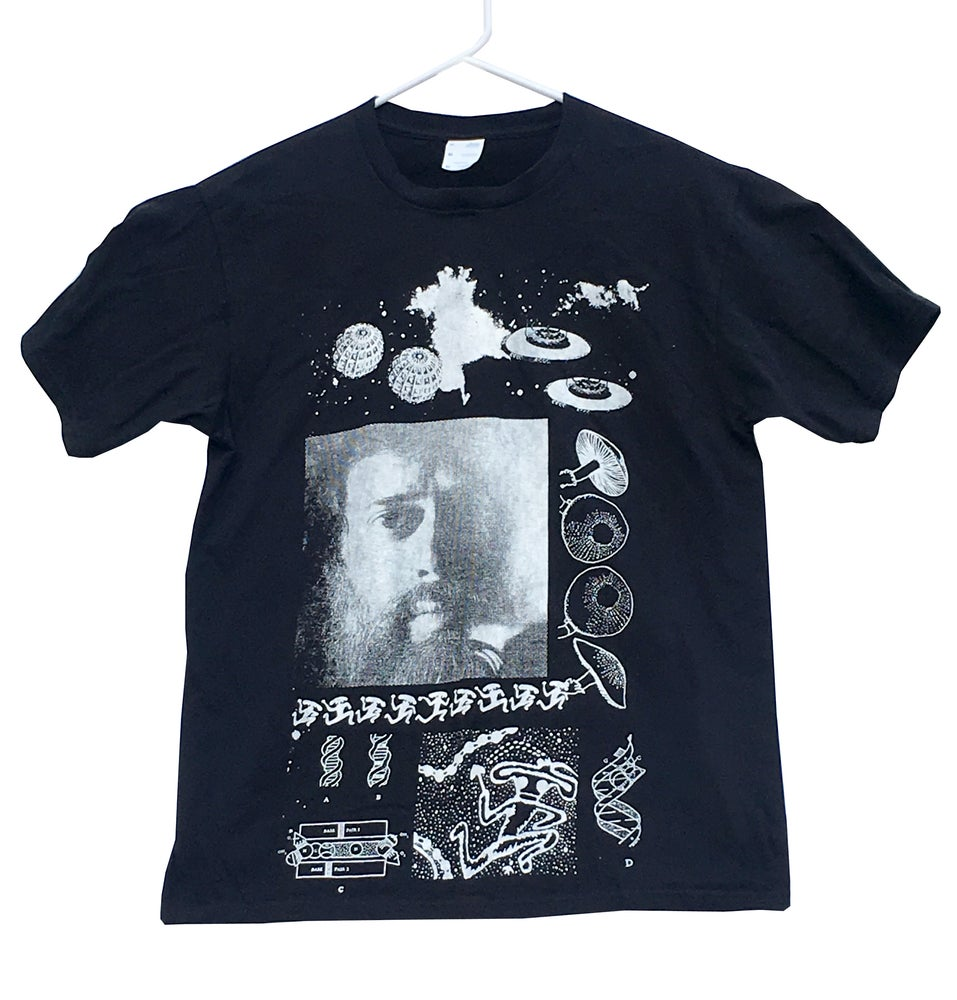 Image of Terence McKenna 'True Hallucinations' T-Shirt