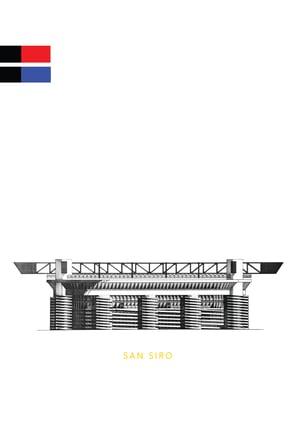 Image of San Siro Stadium. Milan