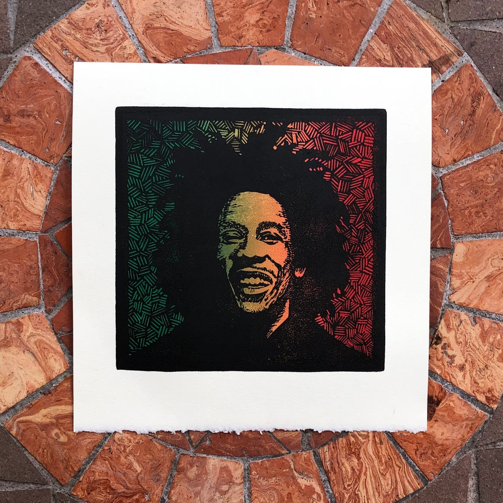 Image of Bob Marley prints