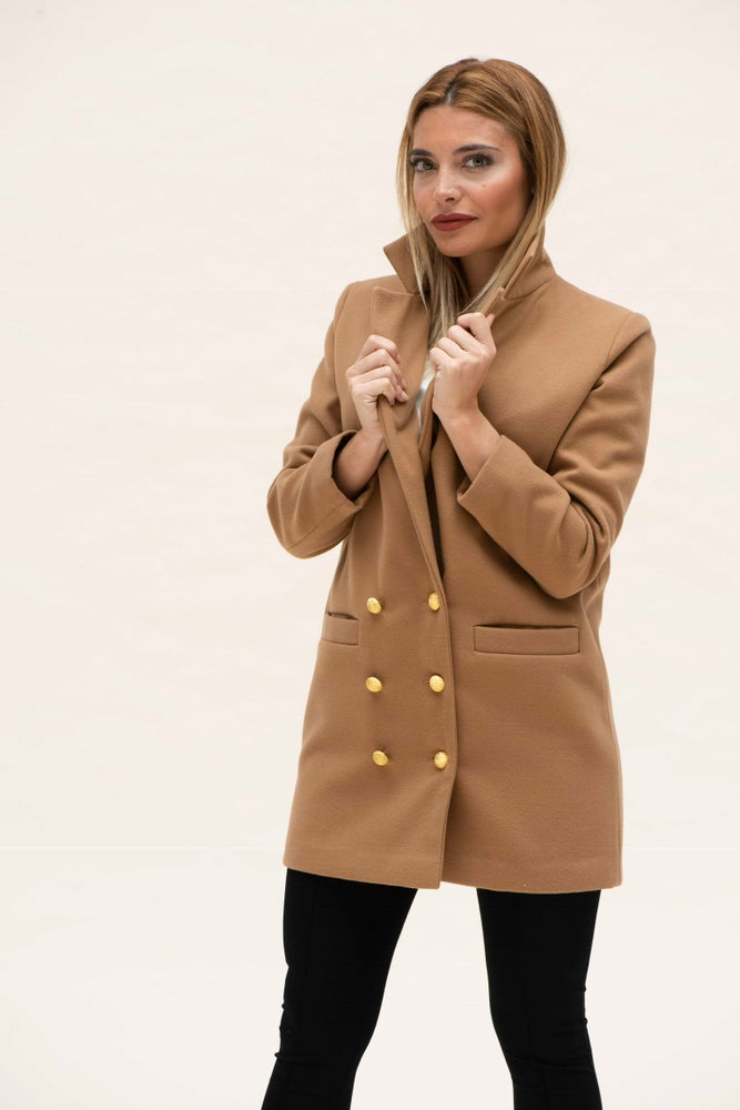 Image of Blazer Mirta Camel