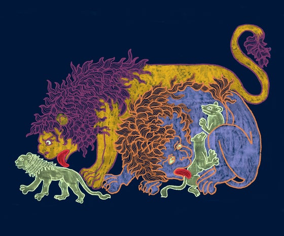 Image of Medieval Lions