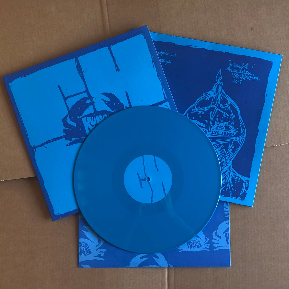 KUNGENS MÄN 'Chef' Blue Vinyl LP