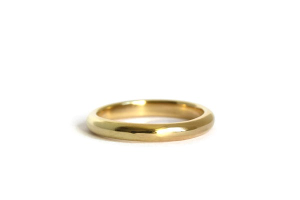 Image of 18ct Gold Narrow Wedding Ring