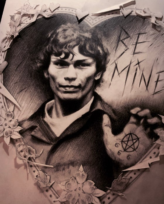 Image of 'BE MINE' - [ The Night Stalker ] - Valentine's Day Complimentary Print