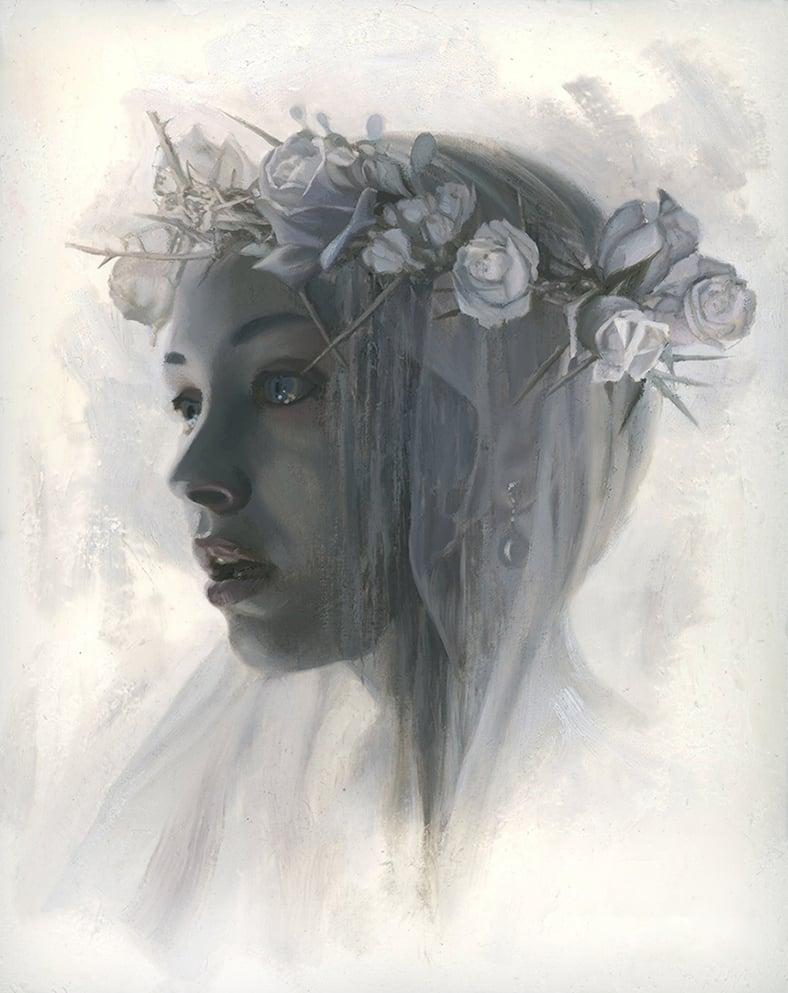 Image of WHITE ROSE GIRL