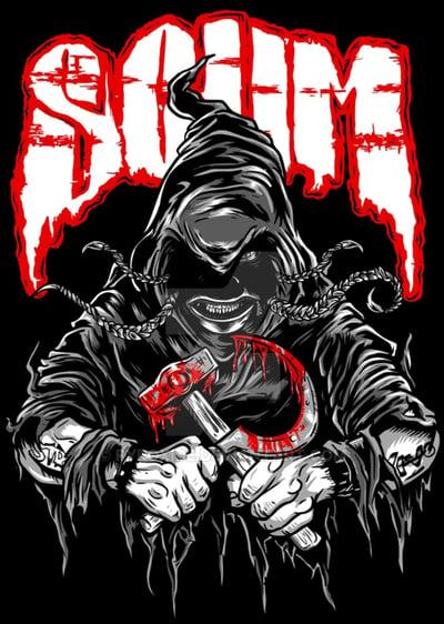 Image of SCUM: GRIMZIPPER reg shirt