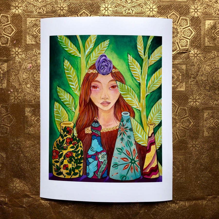 Image of Lady Pearl Giclee Print