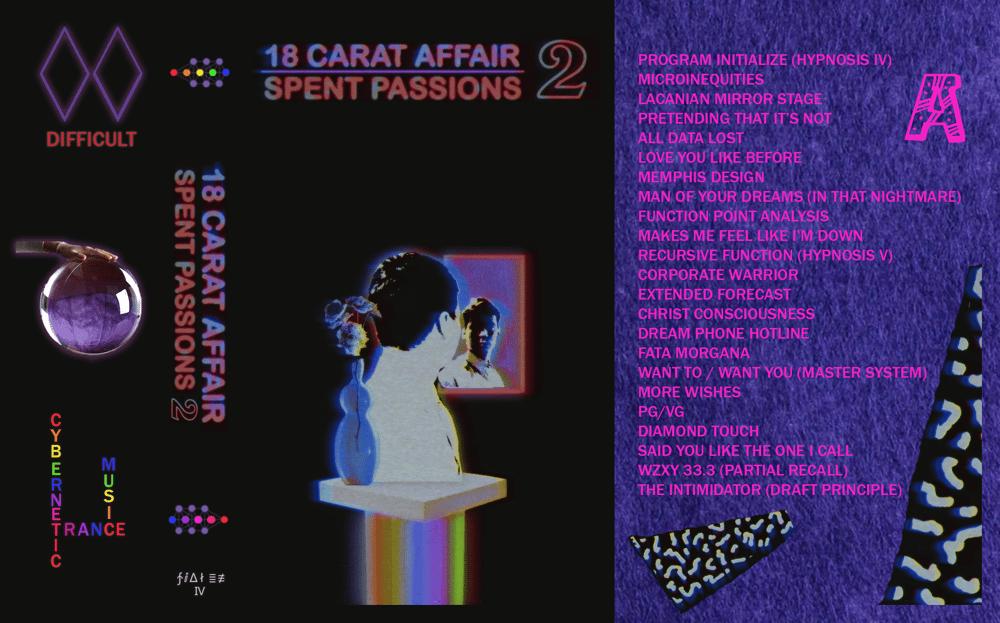 Image of 18 Carat Affair // Spent Passions 2