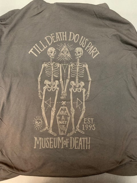 Image of M.O.D. Till Death Light Hoodie
