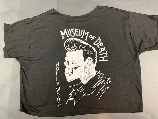 Image of M.O.D. Pomp Rocker Crop Top Tee