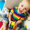 Kids Short Sleeve Rainbow T-shirt