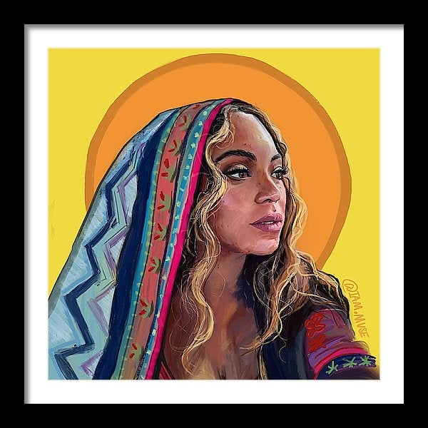 """Image of """"Beyonce Giselle Knowles Carter"""" Limited Edition Prints"""