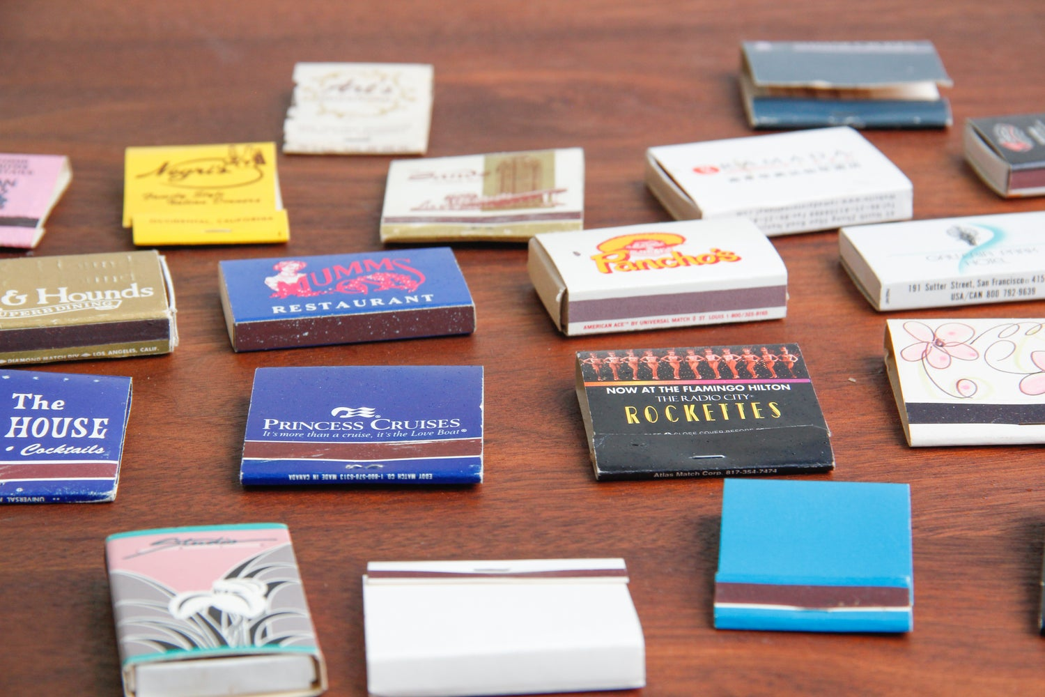 Image of Miscellaneous Vintage Matchbooks