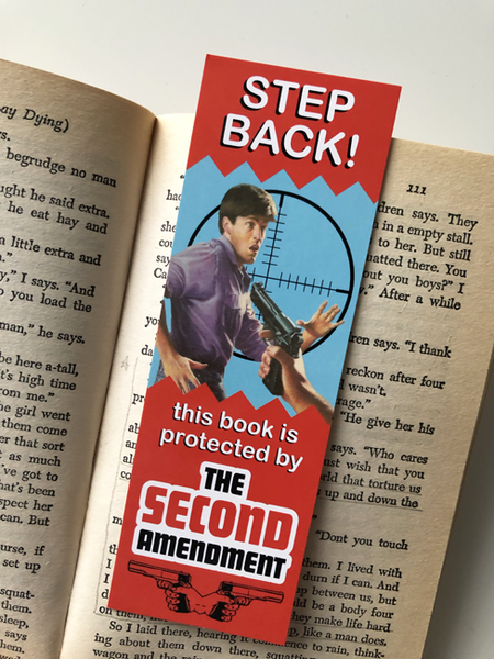Image of Step Back! Bookmark
