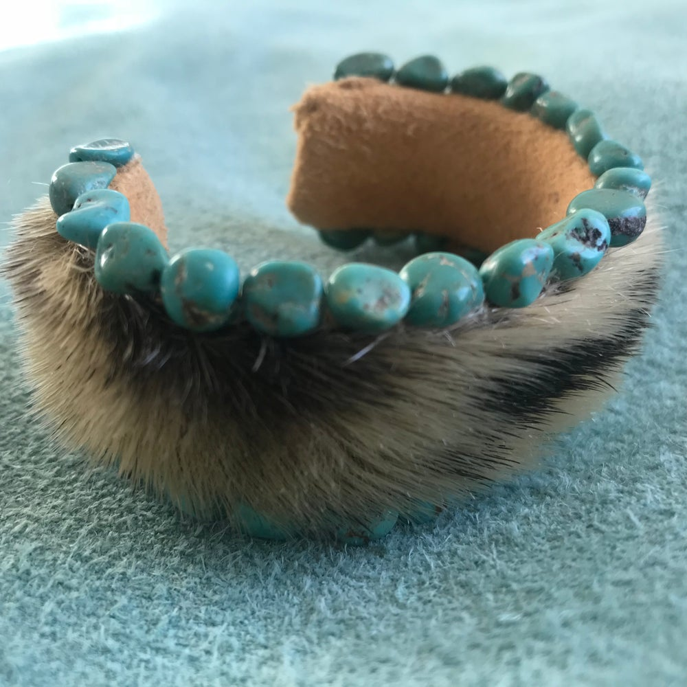 Image of Turquoise and Sealskin