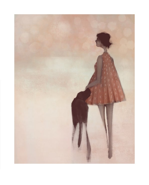 Image of Fine art print: Just us, then