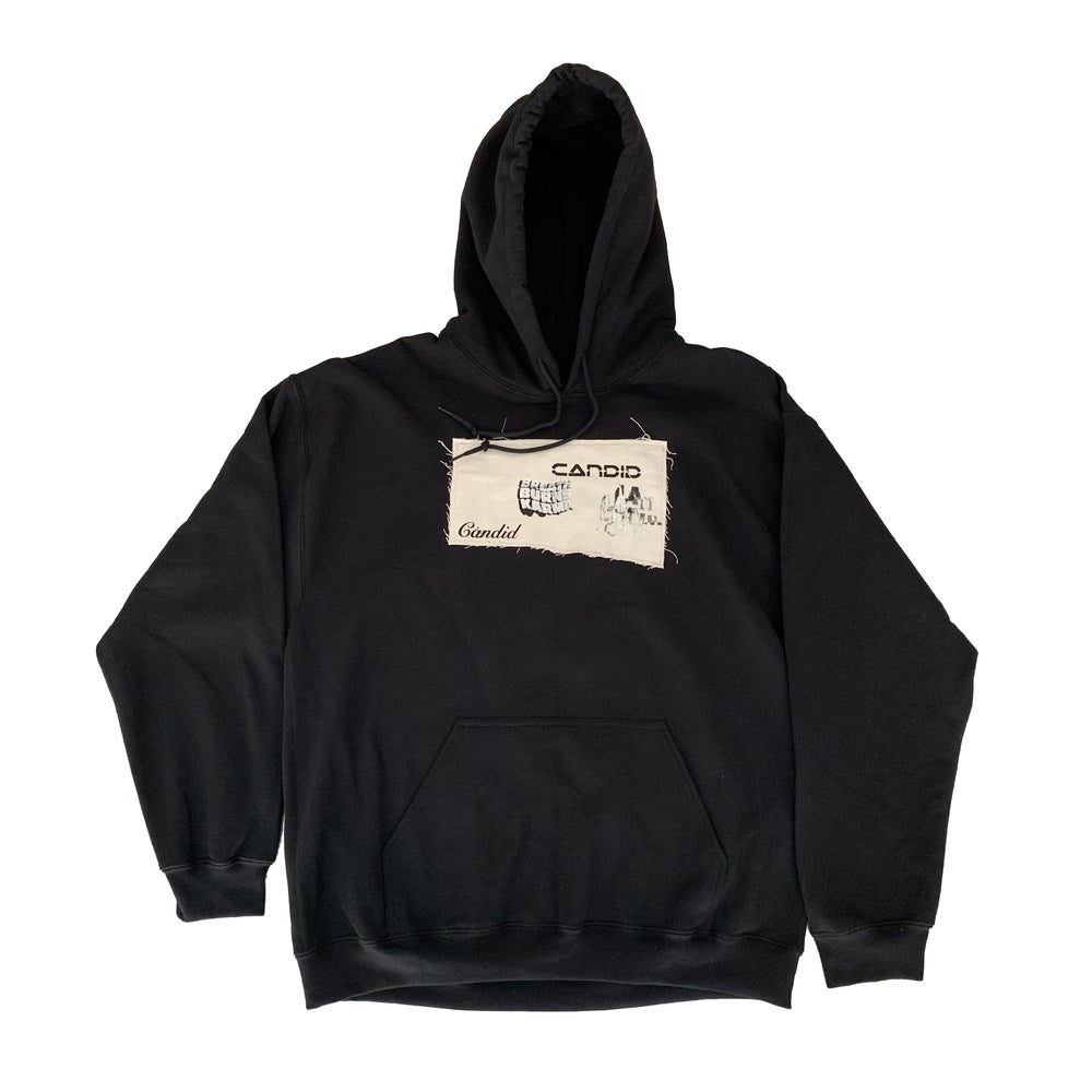 Image of Candid Canvas Patchwork Hoodie 04