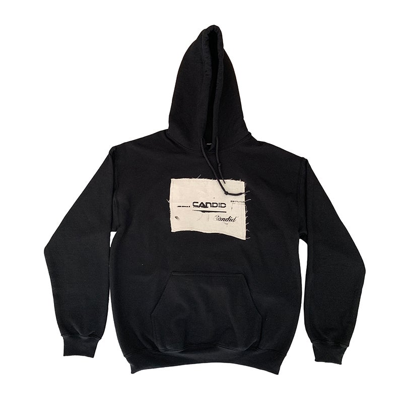 Image of Candid Canvas Patchwork Hoodie 05