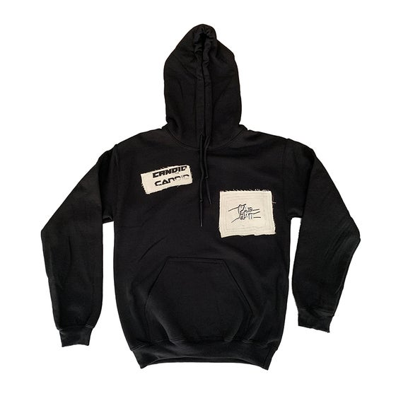Image of Candid Canvas Patchwork Hoodie 03