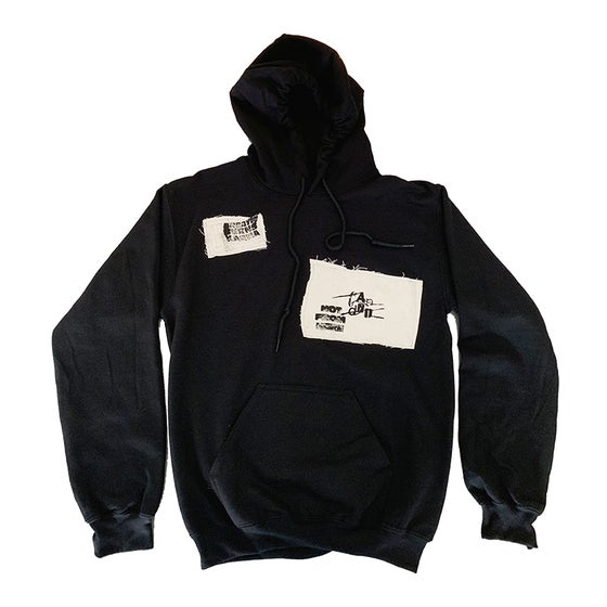 Image of Candid Canvas Patchwork Hoodie 06