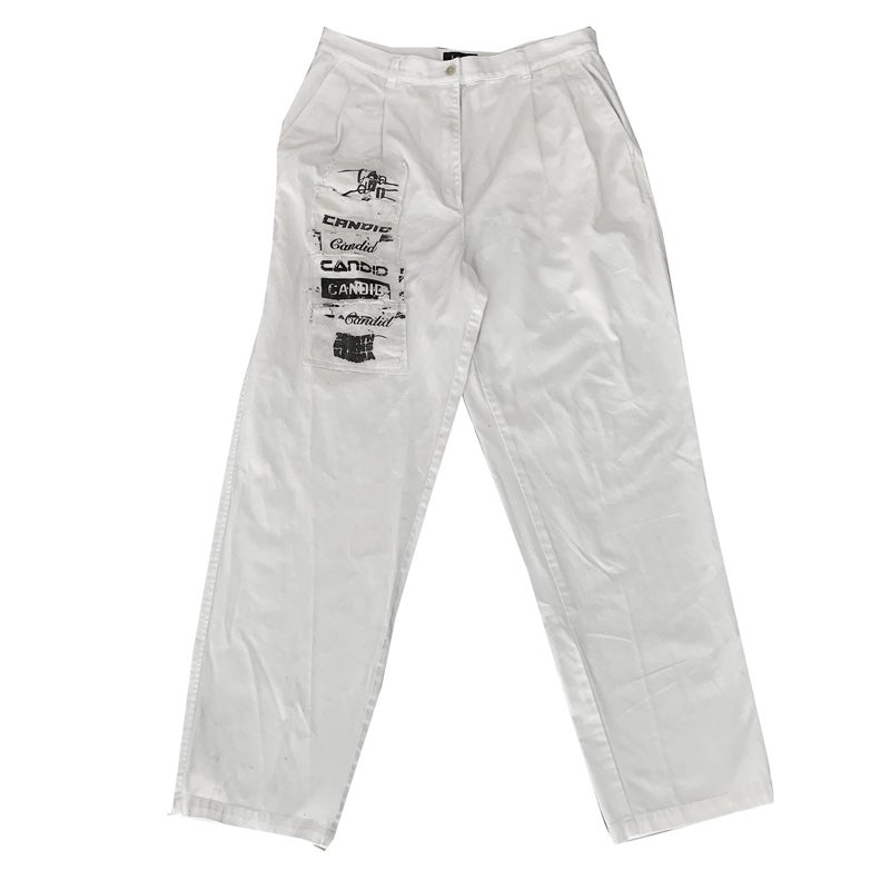 Image of Candid Canvas Patchwork Pants - 32-34 - V2