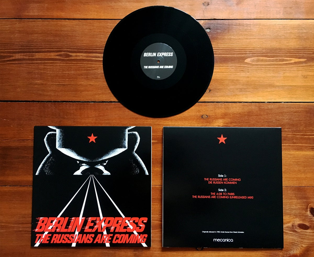 Image of Berlin Express - The Russians Are Coming 12""