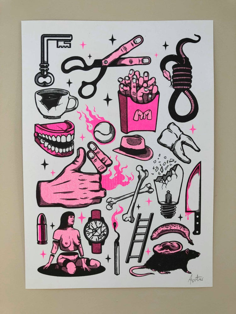 Image of Flash Sheet - Pink