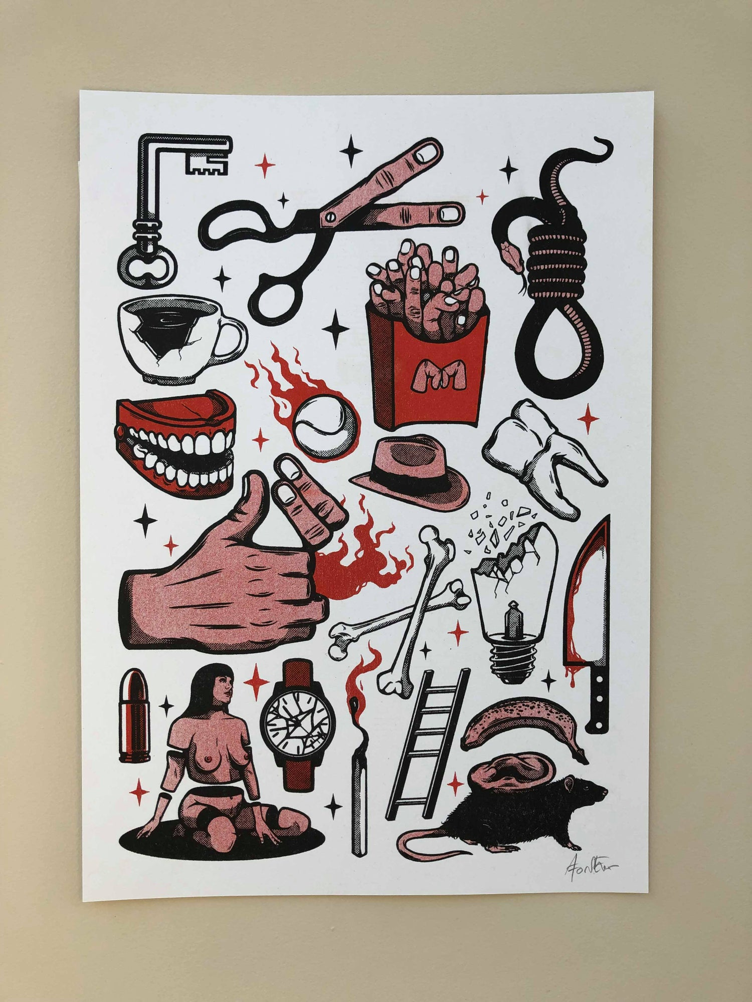 Image of Flash Sheet - Red
