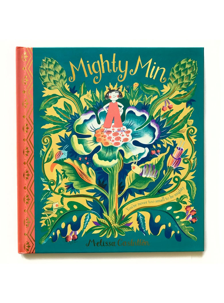 Image of Personalised 'Mighty Min' book **with limited Edition Riso print**