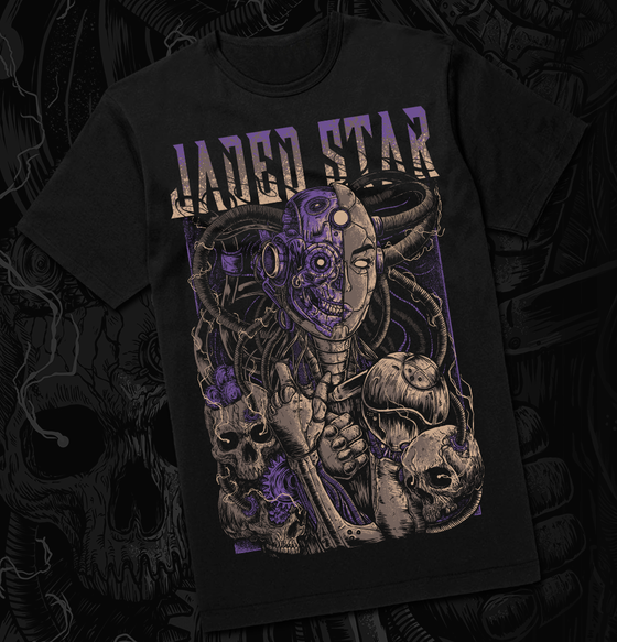 Image of Jaded Star REGENERATION T-shirt