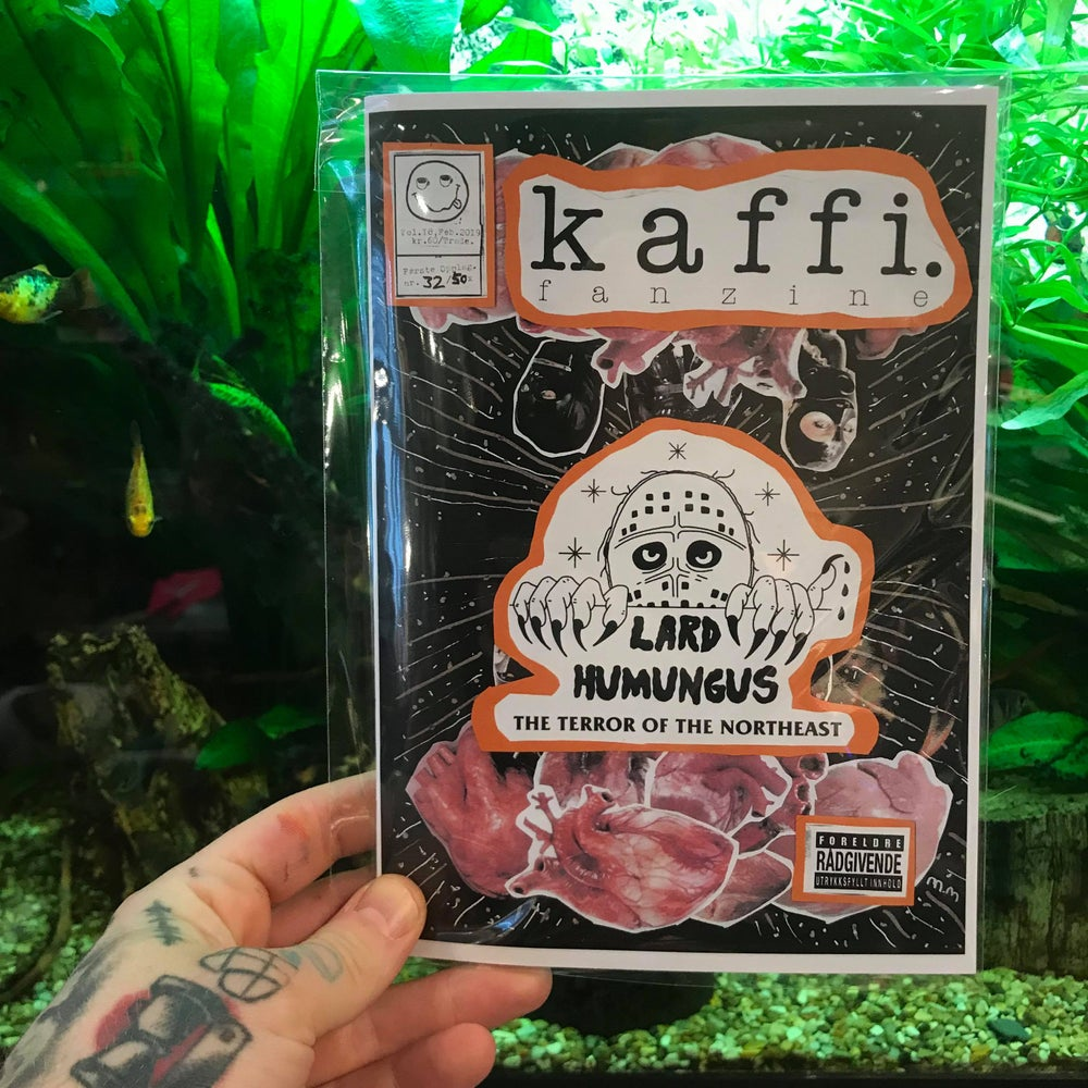 Image of kaffi fanzine Vol.18 (2019)