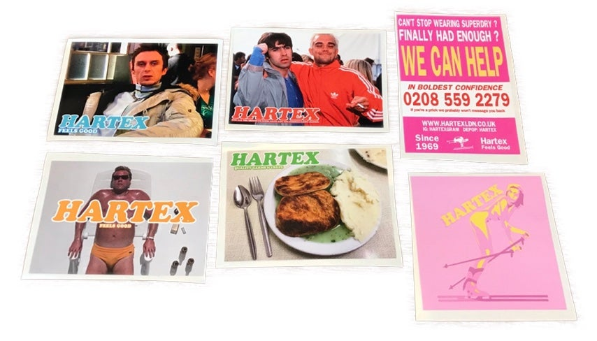 Image of Hartex Stickers - 12x