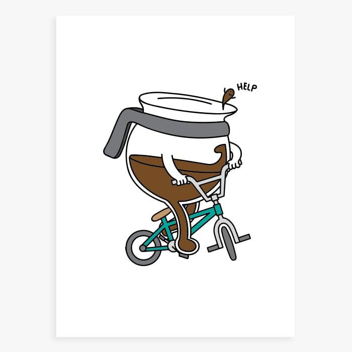 Image of Coffee Pot Print