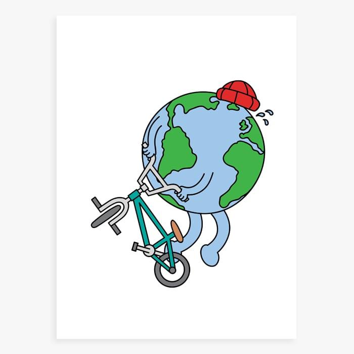 Image of Earth Print