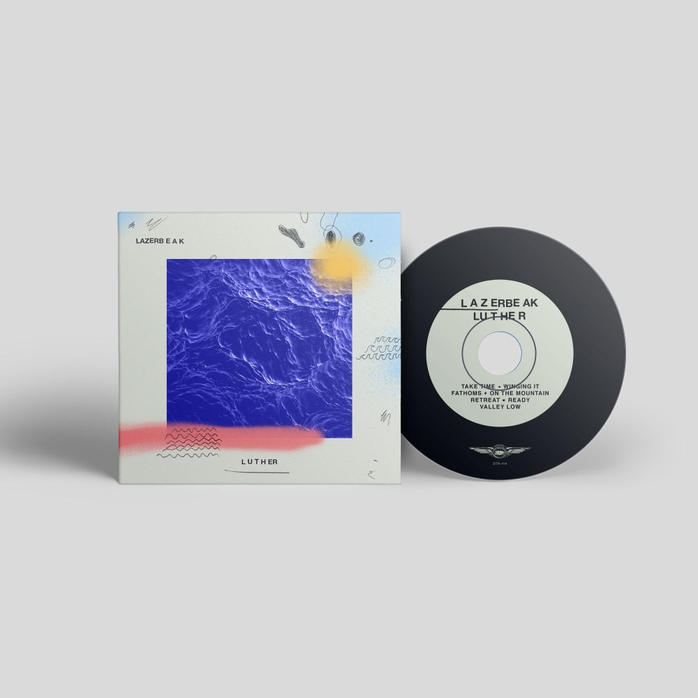 Image of LUTHER (CD) - Lazerbeak
