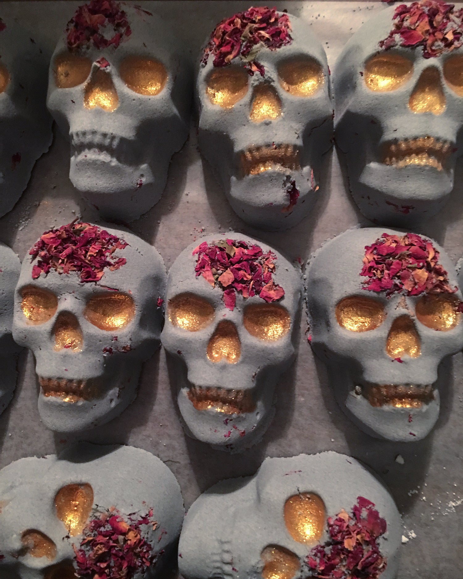 Image of Skull Muscle Rescue Bath Bombs